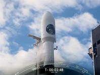 SpaceX запустила ракету Falcon 9 с засекреченным разведывательным спутником США (ВИДЕО)