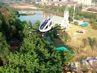 Компания EHang начала катать туристов в Китае на своем воздушном такси (ВИДЕО)