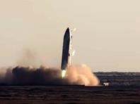 """Недавнее испытание прототипа SN8 в """"прыжке"""" на 12,5 километра было успешным до самого конца, но при посадке прототип взорвался, не успев погасить скорость"""