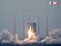 "В Китае успешно запустили многоразовую в перспективе ракету ""Чанчжэн-8"" (ВИДЕО)"