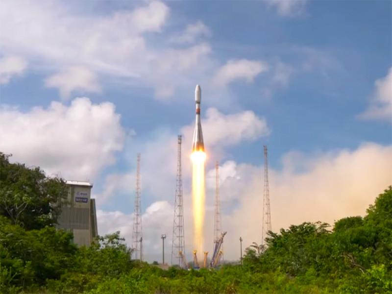 """29 декабря в 19:42 мск со стартовой площадки Гвианского космического центра в рамках пусковой кампании Arianespace VS25 выполнен успешный пуск ракеты-носителя """"Союз-СТ-А"""" с разгонным блоком """"Фрегат-М"""" и космическим аппаратом CSO-2 для французского Национального центра космических исследований и Генеральной дирекции по вооружению в интересах Министерства обороны Франции"""