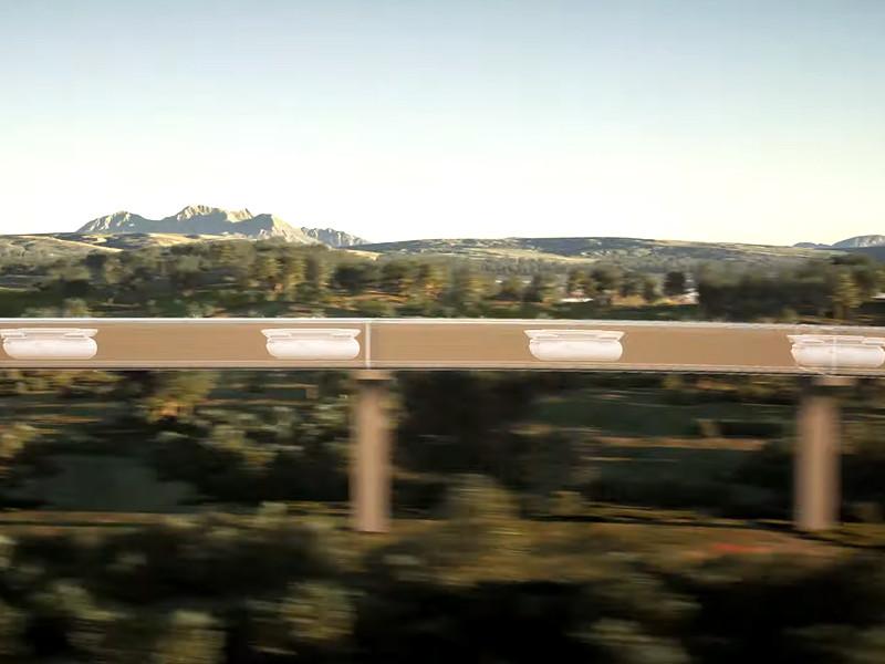 Virgin Hyperloop показала, как будут выглядеть поездки на вакуумных поездах будущего
