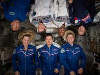 Американские астронавты на МКС поделились едой с оставшимися без припасов российскими коллегами