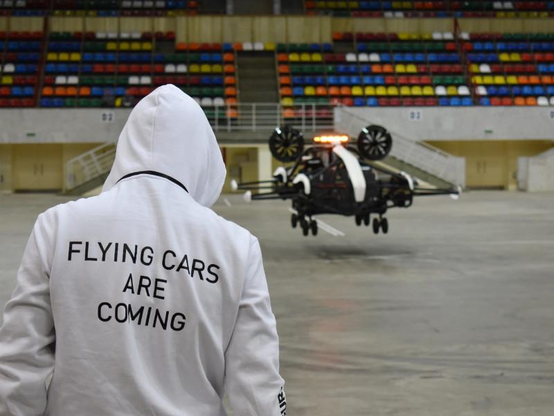 В Москве начали испытания прототипа летающего такси