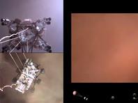 В NASA показали первое ВИДЕО, снятое марсоходом Perseverance