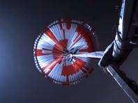 Пользователи расшифровали секретное послание на куполе парашюта марсохода Perseverance
