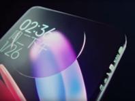 Компания Xiaomi показала концепт смартфона с дисплеем, заходящим на все грани
