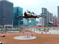 В Китае готовятся запустить серийное производство летающих такси