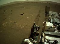 Ровер Perseverance записал звук езды по Марсу