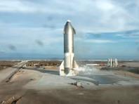 """""""Starship SN10 приземлился в целости!"""" - кратко подвел итоги испытаний в своем микроблоге глава SpaceX Илон Маск"""