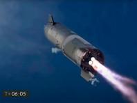 """SpaceX с третьей попытки испытала прототип ракеты Starship в """"прыжке"""" на 10 километров"""