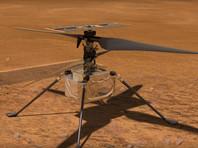 Первый полет марсианского вертолета Ingenuity состоится не ранее 8 апреля