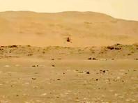 Марсианский вертолет Ingenuity совершил второй полет