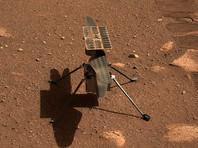 Инженеры NASA нашли причину сбоя, возникшего во время предполетных испытаний марсианского вертолета Ingenuity