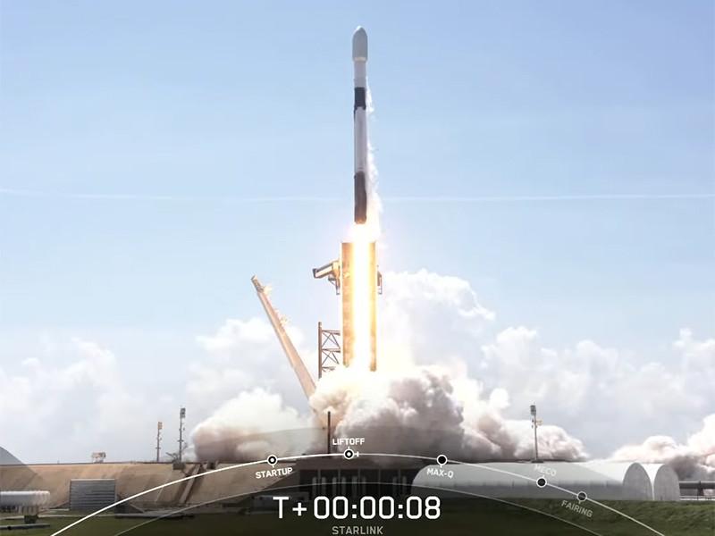 SpaceX запустила 26-ю партию спутников Starlink