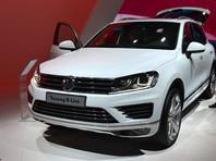Volkswagen отзывает в России 1,1 тыс. внедорожников Touareg из-за потенциальной утечки масла