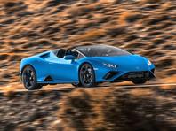 Компания Lamborghini представила суперкар Huracan RWD Spyder