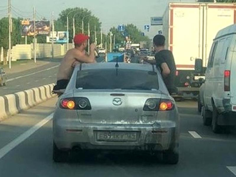 Задержание нетрезвого водителя, Красноярск, май 2020 года