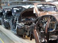 Производство легковых машин в России упало на 79,2%