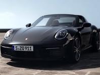 Porsche представила обновленную модель 911 Targa (ВИДЕО)