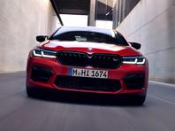 BMW представила обновленный спортивный седан M5 (ВИДЕО)