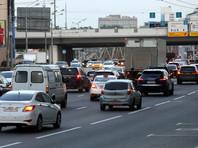 В Москве зафиксировали рекордное количество машин на дорогах с конца марта