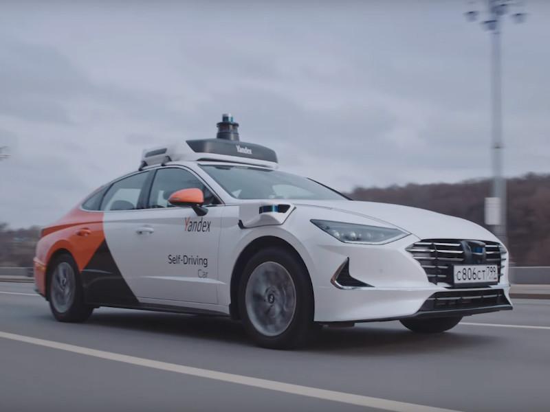 """""""Яндекс"""" и Hyundai создали новый беспилотный автомобиль на базе Hyundai Sonata"""