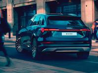 Audi привезла в Россию электрический кроссовер e-tron