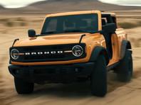 Компания Ford представила новое поколение внедорожника Bronco (ВИДЕО)