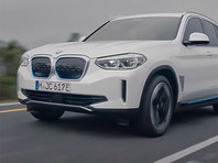 BMW представила электрическую версию кроссовера X3