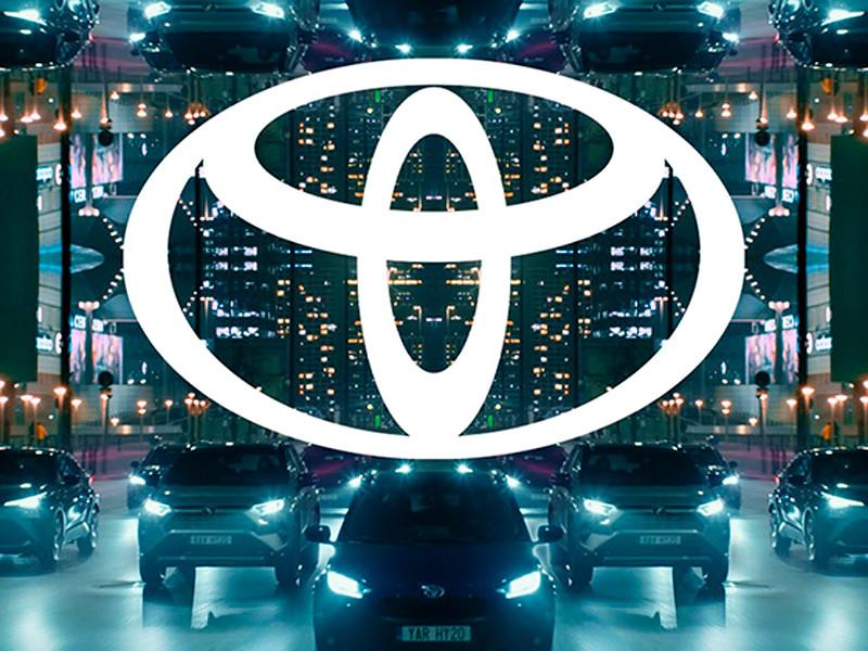 Toyota представила обновленный логотип