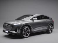 Audi представила электрический кроссовер Q4 Sportback e-tron (ВИДЕО)