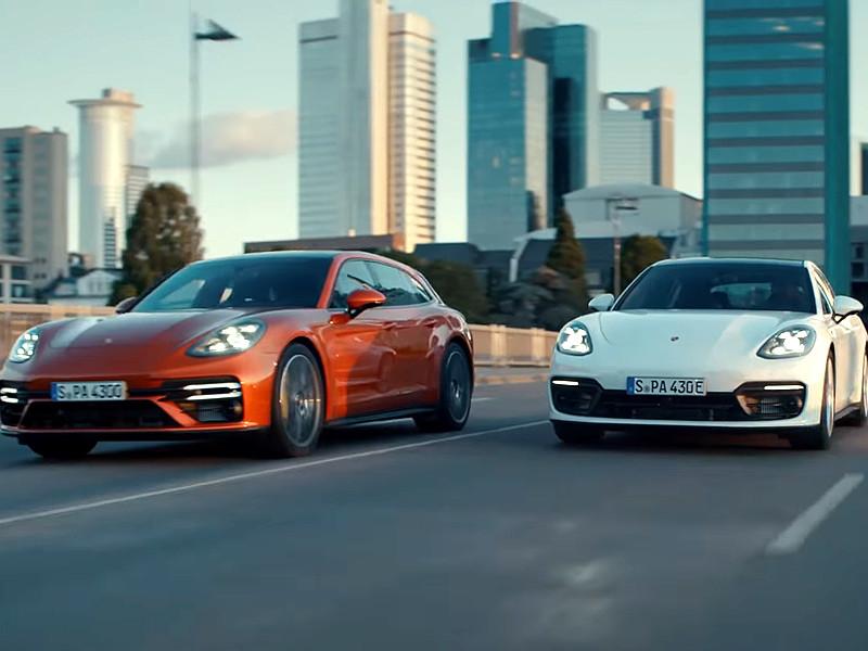 Porsche представила обновленное семейство Panamera