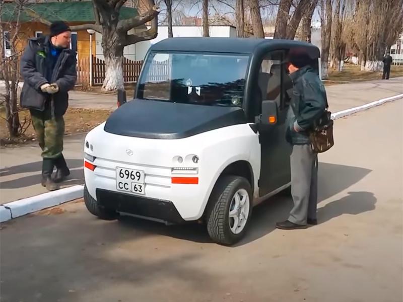 Минимальная стоимость компактного отечественного электромобиля Zetta составит 550 тысяч рублей