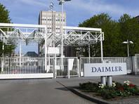 """Daimler заплатит в США за """"дизельгейт"""" 2,2 млрд долларов"""