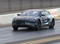 Стартап Lucid Motor официально презентовал электромобиль Air с рекордным запасом хода