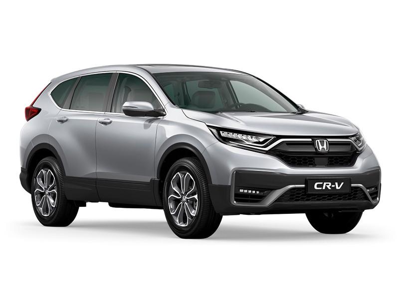Honda анонсировала новое поколение кроссовера CR-V для российского рынка