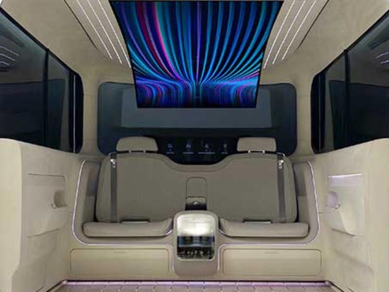 Hyundai показала примерный облик салона будущих электрокаров своего нового суббренда Ioniq