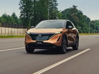 Nissan запатентовала в России электрический кроссовер Ariya