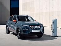 Компания Dacia представила самый дешевый электрокар для европейского рынка