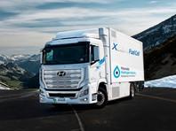 Hyundai начала поставки первого в мире серийного водородного грузовика (ВИДЕО)