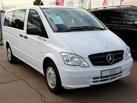 Mercedes-Benz отзывает в России свыше 200 микроавтобусов Vito