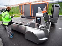 На ЦКАД испытали российский беспилотный грузовик на водороде