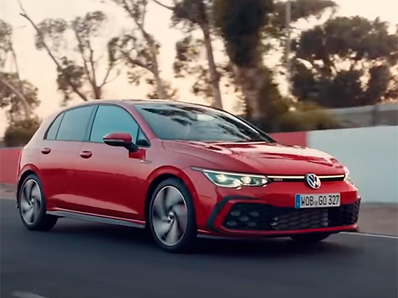 Volkswagen анонсировала выход нового Golf на российский рынок