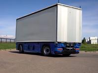 """""""КамАЗ"""" показал ВИДЕО испытаний беспилотного грузовика без кабины"""