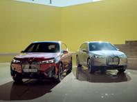 BMW представила электрический кроссовер iX (ВИДЕО)