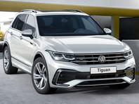 Компания Volkswagen объявила российские цены на обновленный кроссовер Tiguan