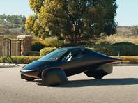 Компания Aptera начала прием заказов на трехколесный электромобиль с солнечными панелями (ВИДЕО)