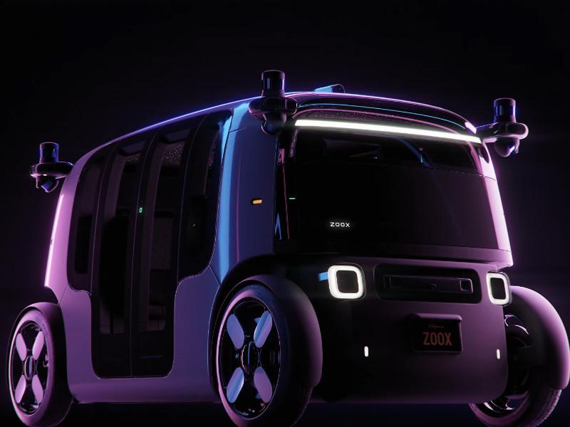 Стартап Zoox представил беспилотное такси без руля