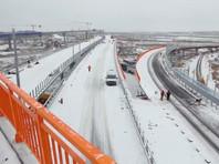 В Подмосковье открыли 170-километровый участок ЦКАД
